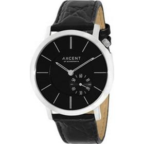 Axcent of Scandinavia Around blank rustfri stål Quartz Unisex ur, model IX12803-237