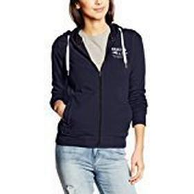 Gaastra Women's Regular Fit Hooded Long Sleeve Sweatshirt Blue Blau (NAVY F40) 8