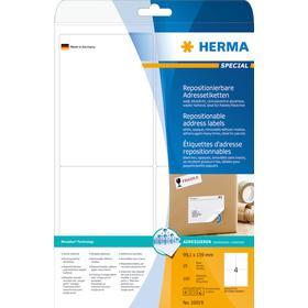 HERMA Etikett Avtagbar A4 99,1x139 (25)