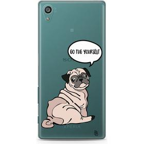 Bjornberry Clear TPU Case - Go Pug Yourself (Xperia Z5 Compact)
