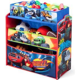 Delta Children Blaze & the Monster Machines Multi-Bin Toy Organizer