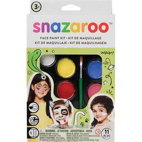Snazaroo Rainbow Face Paint Kit Ansiktsfärg