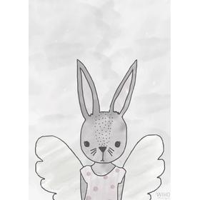 Wiho Ru the Rabbit Poster