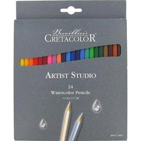 Cretacolor Watercolor Pencils Artist Studio 24-pack