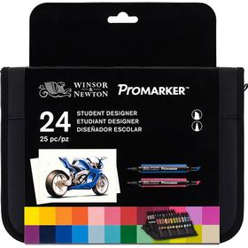 Winsor & Newton ProMarker 24 In Wallet Set