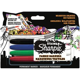 Sharpie Stained Fabric Markers 4-pack