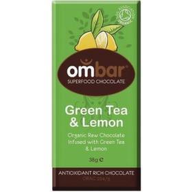 Ombar Probiotic Grönt Te & Citron38g