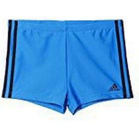 Adidas Men's 3-Stripes Boxers - Shock Blue S/Black, 3