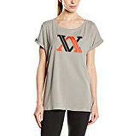 Völkl Performance Wear Women's T-Shirt with Logo grey Fresh Ash Size:S
