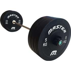 Master Fitness Skivstångsset Fitness - Jämför priser på PriceRunner b0abf6756ce2f