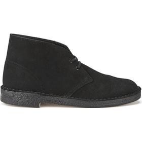 Clarks Originals GTX Desert Boots Black Suede