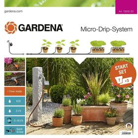 Gardena Micro Drip System Starter Set Plant Pots M Automatic