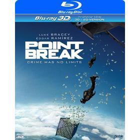 Point Break 3D+2D (2016) (Blu-ray 3D + Blu-ray) (3D Blu-Ray 2015)