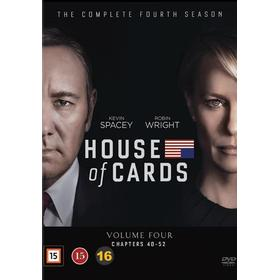 House of cards: Säsong 4 (4DVD) (DVD 2016)