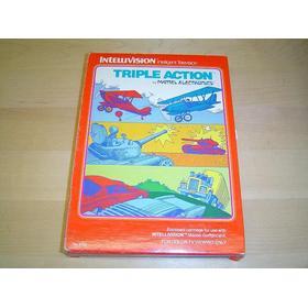 Intellivision - Triple Action Komplett, Begagnad