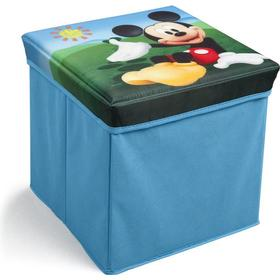 Delta Children Mickey Mouse Collapsible Storage Ottoman