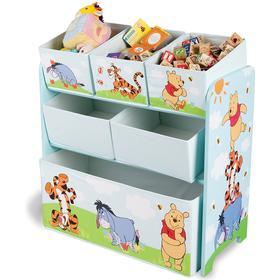 Delta Children Winnie the Pooh Wooden Toy Organizer