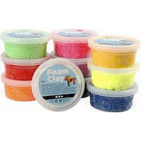Foam Clay Mix Color Clay 10x35g