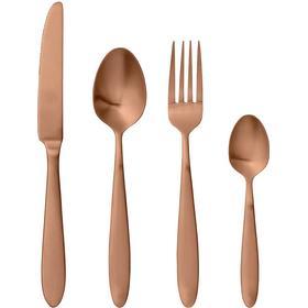 Bloomingville Copper Brushed Bestickset 4 st