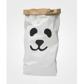 Tellkiddo Panda Paper Bag Storage of Toys Books or Teddy Bears