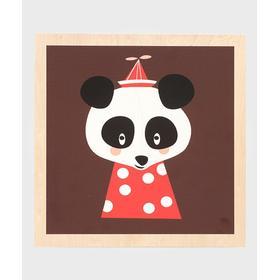 Ferm Living Posey Panda Picture