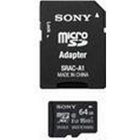 Sony MicroSD Expert 64GB Minneskort, UHS-I, Upp till 95MB/s, med SD Adapter
