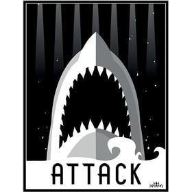 Knaada - Attack 50X70 Cm