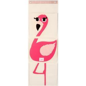 3 Sprouts Flamingo Wall Organizer