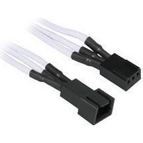 BitFenix 3-pin forlængerkabel - 30cm - Hvid