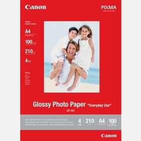 Canon GP-501 glansigt fotopapper A4 100st 210gsm (0775B001)