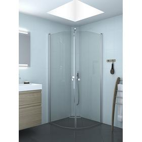 Scanbad Match E Shower Door 200x80mm Brusedør