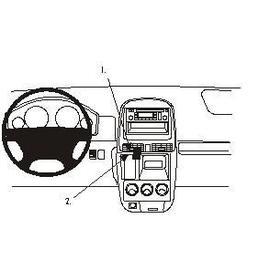 Brodit Honda CR-V 02-06, Centrerad