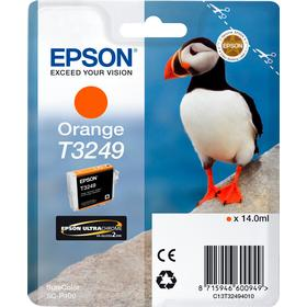 Epson T3249 Orange bläckpatron 14ml original Epson C13T32494010