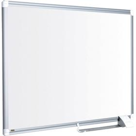 BI-OFFICE Whiteboardtavla 120x90cm Aluminium Lacq Steel Maya