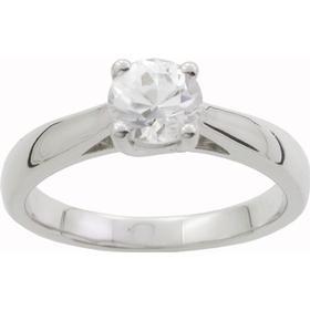 Thomas Sabo White Gold Ring w. Diamond (E011270-0.50)