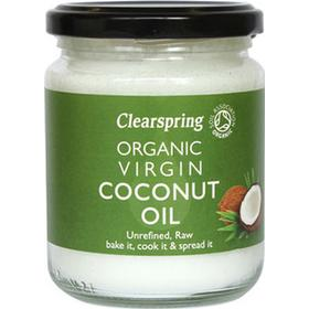 Clearspring Organic Raw Coconut Oil 200g