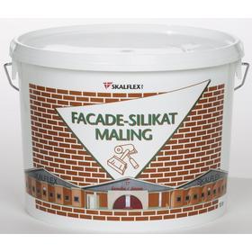 Skalflex Facade silikatmaling Hvid 10L