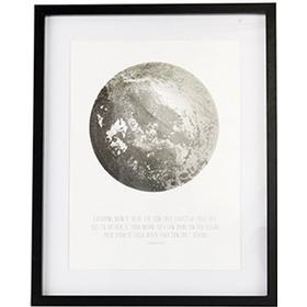 House Doctor Moon 53cm Billedrammer