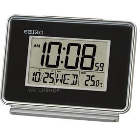 Seiko Clocks LCD Desk Alarm