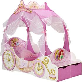Worlds Apart Hello Home Disney Princess Carriage Toddler Bed