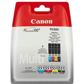 Canon CLI-551 C/M/Y/BK Multipack - 4-pack