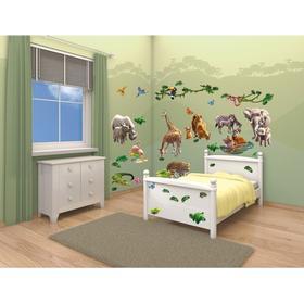 Walltastic Jungle Adventure Room Decor Kit 41080