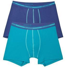 Sloggi - 2-pack For Men Match Short Blue/Turquoise