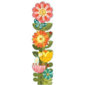 Petitcollage Garden Flowers Growth Chart