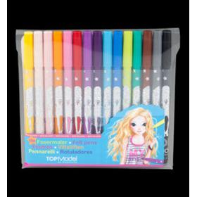Top Model Color Markers 15-pack