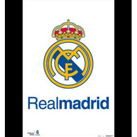 REAL MADRID affisch