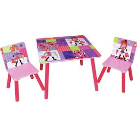 Liberty House Toys Fashion Girl Square Table & 2 Chairs Set