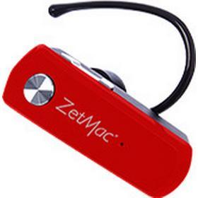 ZetMac BHZ306 Bluetooth Headset Rød