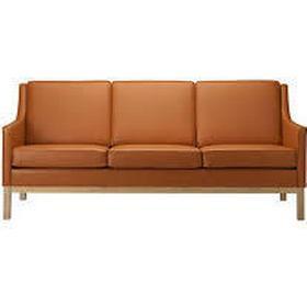Fdb Design L601-3 Sofa Lædersofa, Sofa