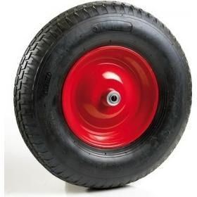 Ravendo Hjul / dæk til trillebør, standard, Ø12x100 mm nav, med kuglelejer, 4 lag, 640627